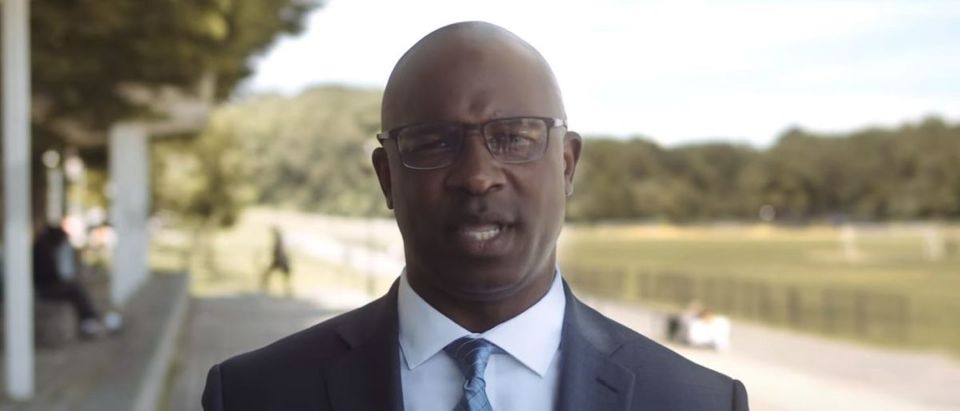 Middle school principal Jamaal Bowman announced his challenge to long-serving Democratic New York Rep. Eliot Engel on June 18, 2019. YouTube screenshot/Jamaal Bowman