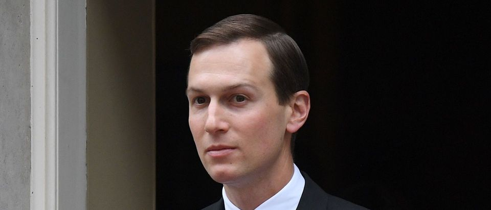 Special Advisor to the US President, Jared Kushner, leaves from 10 Downing Street in London on June 4, 2019, on the second day of the US President and First Lady's three-day State Visit to the UK. (DANIEL LEAL-OLIVAS/AFP/Getty Images)