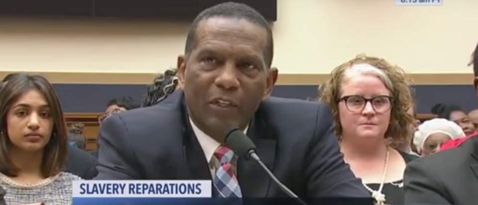 Burgess Owens testifies before Congress. Screen Shot/C-Span