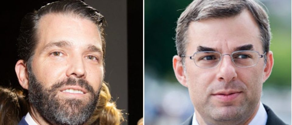 Justin Amash and Donald Trump Jr.