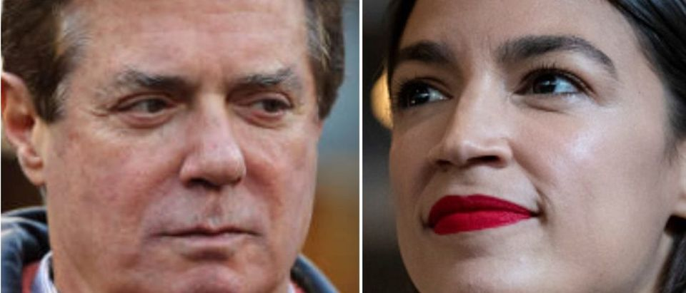Paul Manafort And Alexandria Ocasio-Cortez