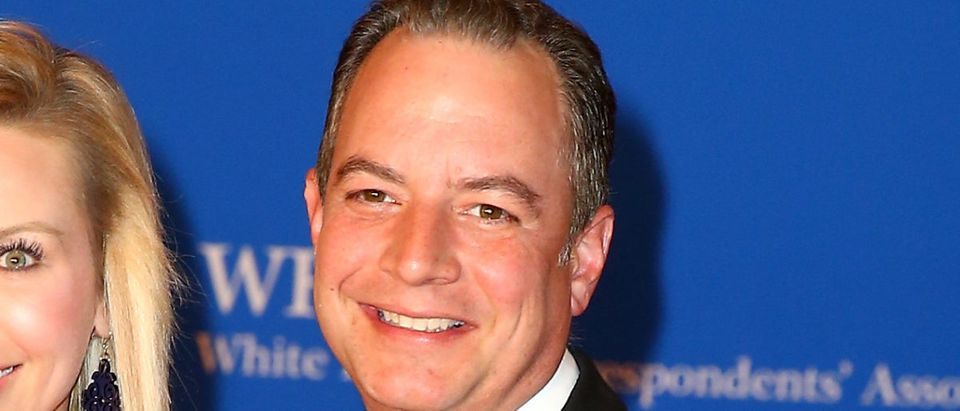 Former White House chief of staff Reince Priebus attend the 2018 White House Correspondents' Dinner at Washington Hilton on April 28, 2018 in Washington, DC. (Photo by Tasos Katopodis/Getty Images)