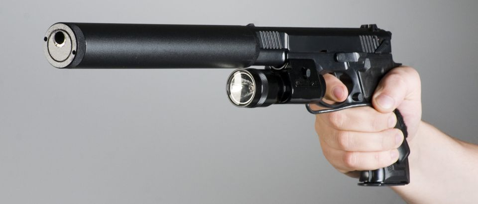 Gun suppressors are under scrutiny after May 31, 2019 Virginia Beach shooting, which killed 13 including the gunman. Photo by Shutterstock.