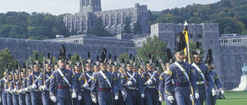 Cadets Marching in Formation, West Point Military Academy, West Point, New York. Photo by Shutterstock.