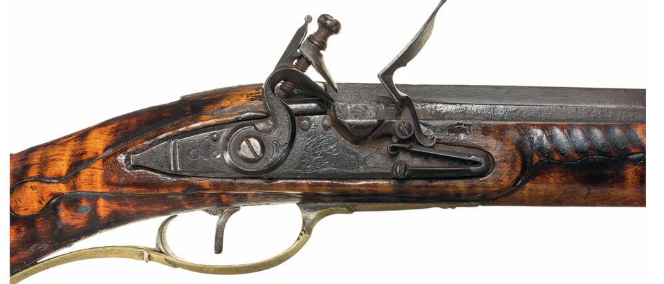 The American Long Rifle, also known as Pennsylvania or Kentucky Rifle. Photo courtesy of Rock Island Auction Company. https://www.rockislandauction.com/