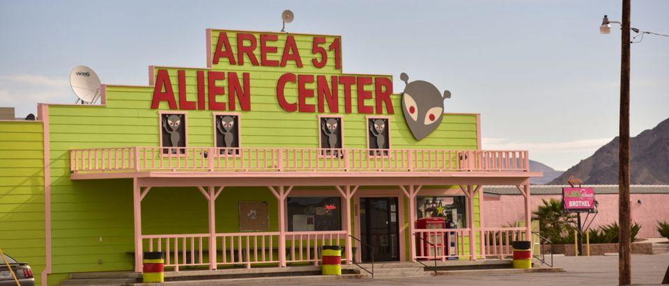 Area 51 (Credit: Shutterstock/Clayton Harrison)
