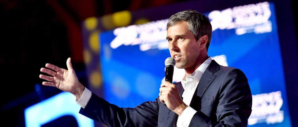 NEW ORLEANS, LOUISIANA - JULY 06: Beto O'Rourke speaks on stage at 2019 ESSENCE Festival Presented By Coca-Cola at Ernest N. Morial Convention Center on July 06, 2019 in New Orleans, Louisiana. (Photo by Paras Griffin/Getty Images for ESSENCE)