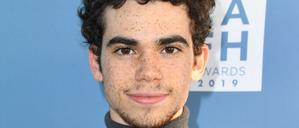 Cameron Boyce attends LA Family Housing Annual LAFH Awards And Fundraiser Celebration at The Lot on April 25, 2019 in West Hollywood, California. (Photo by Jon Kopaloff/Getty Images,)