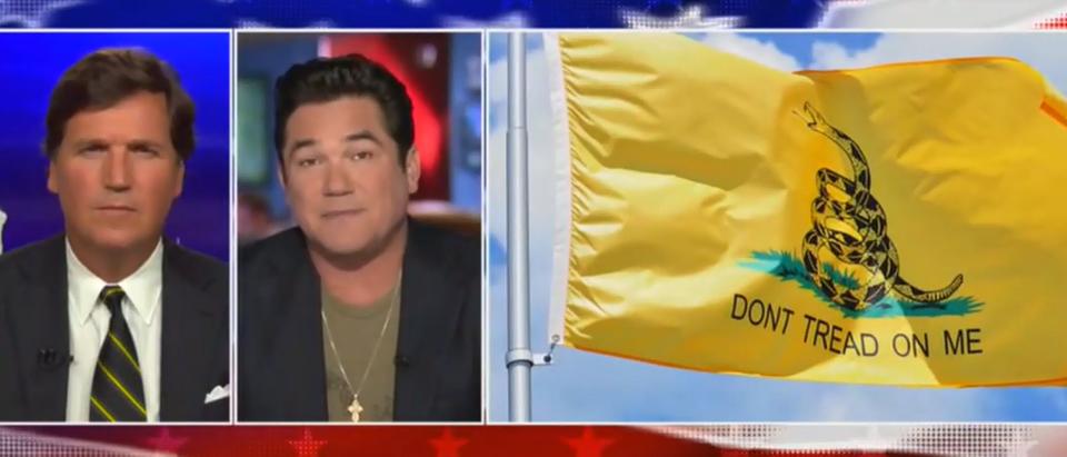 Dean Cain defends Chris Pratt wearing Gadsden Flag (Fox News screengrab)