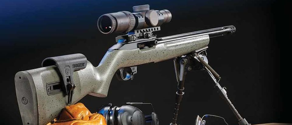 Gun Test Ruger 10 22 Custom Compeion The Daily Caller