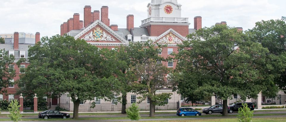 A Harvard University building in Cambridge, Massachusetts, where a woman chased a flasher July 18. (Photo: Scott Eisen/Getty Images)
