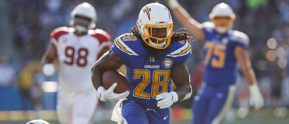 Arizona Cardinals v Los Angeles Chargers(Photo by Sean M. Haffey/Getty Images)