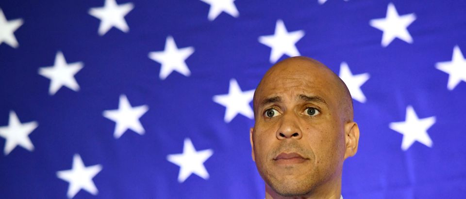 Democratic Presidential Candidate Sen. Cory Booker Holds Campaign Event In Las Vegas