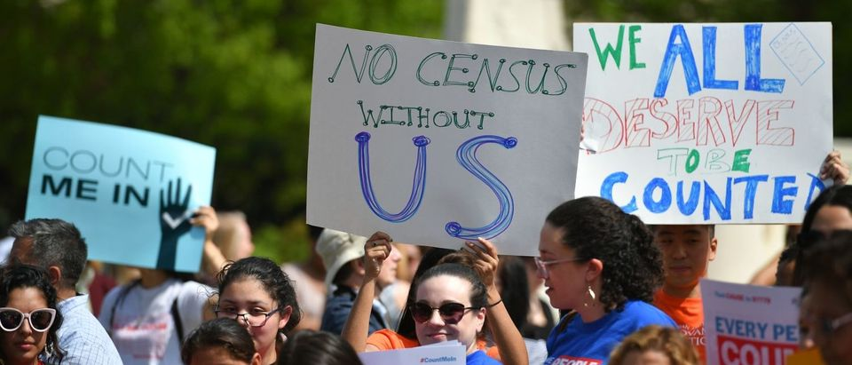 us-politics-census-protests-rally-demonstration (Photo by MANDEL NGAN/AFP/Getty Images)