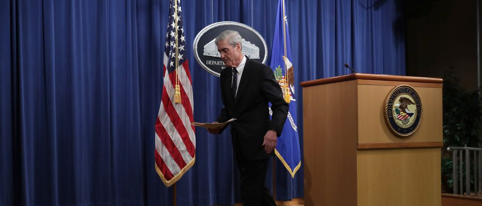 Special Counsel Robert Mueller Makes A Statement On Russia Investigation