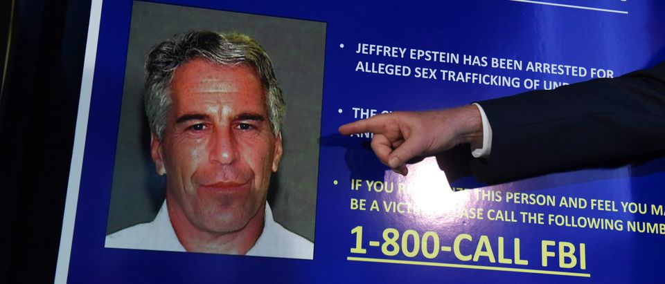 US Attorney for the Southern District of New York Geoffrey Berman announces charges against Jeffery Epstein on July 8, 2019 in New York City. (Stephanie Keith/Getty Images)