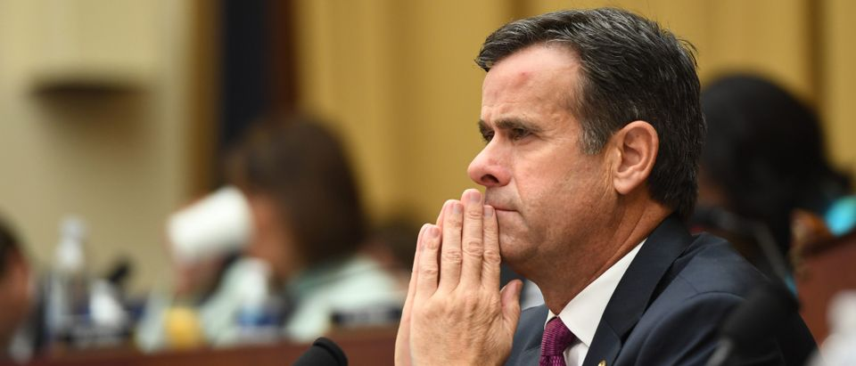 US Representative John Ratcliffe, Republican of Texas, listens as former Special Counsel Robert Mueller testifies in Washington, DC (SAUL LOEB/AFP/Getty Images)