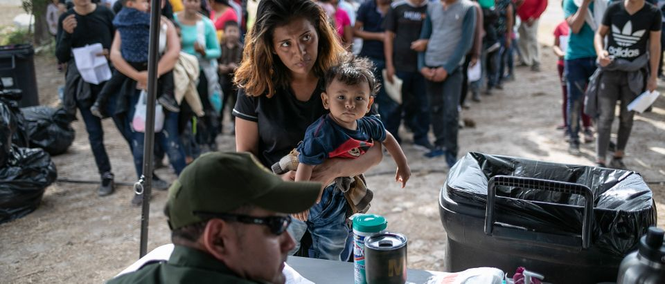 US Border Patrol Receives Asylum Seekers In Texas' Rio Grande Valley