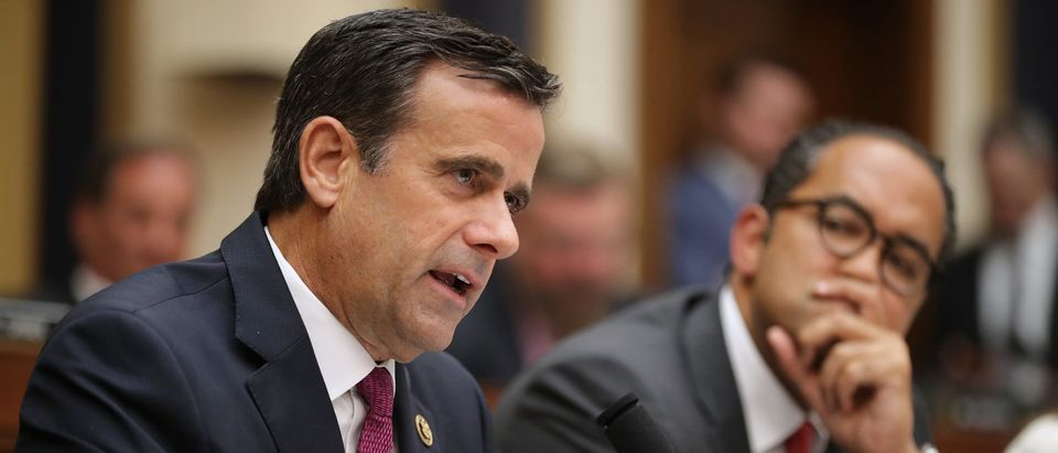 Rep. John Ratcliffe questions former Special Counsel Robert Mueller as he testifies before the House Intelligence Committee about his report on Russian interference in the 2016 presidential election. (Chip Somodevilla/Getty Images)
