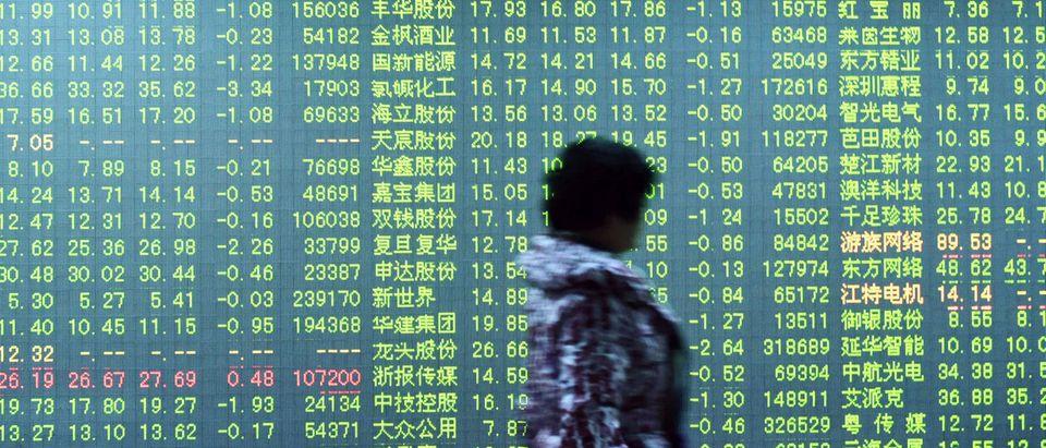 TOPSHOT-CHINA-STOCKS