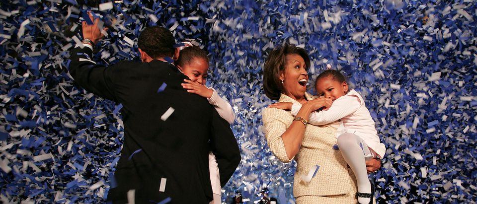 Senate Hopeful Barack Obama Waits For Election Results