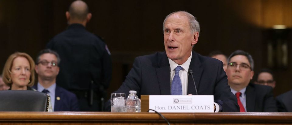 Confirmation Hearing Held For Dan Coats To Be Director Of Nat'l Intelligence