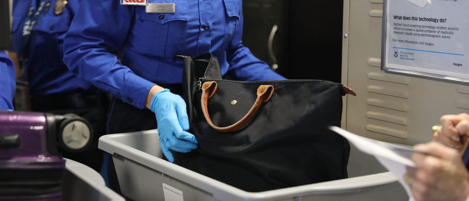 TSA Officials And Delta Introduce Automated Security Screening Lanes At LaGuardia Airport (Photo by Spencer Platt/Getty Images)
