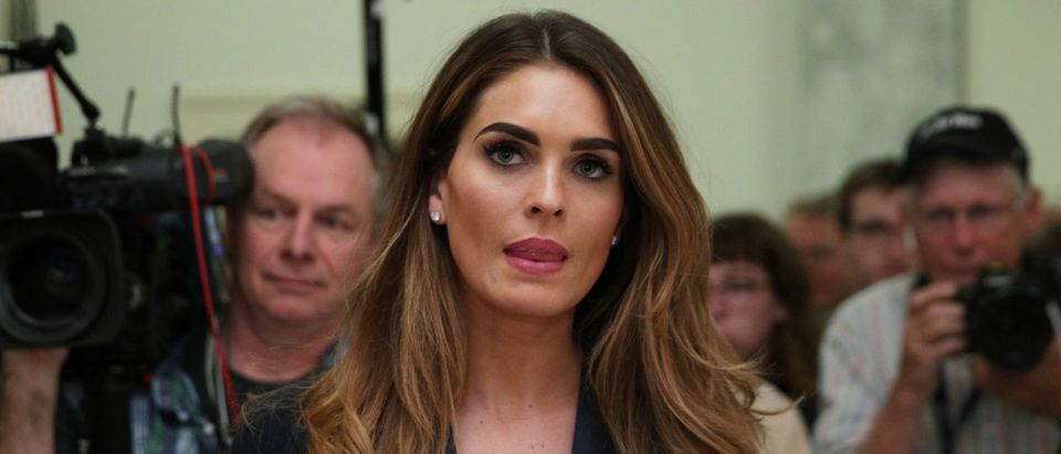 Former White House Communications Director Hope Hicks Testifies Before The House Judiciary Committee Behind Closed Doors
