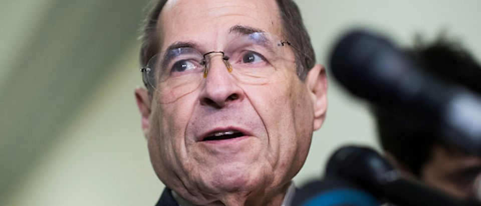 House Judiciary Committee Chairman Jerrold Nadler, D-N.Y., conducts a news conference on the subpoena of Robert Mueller in Rayburn Building on Wednesday, June 26, 2019