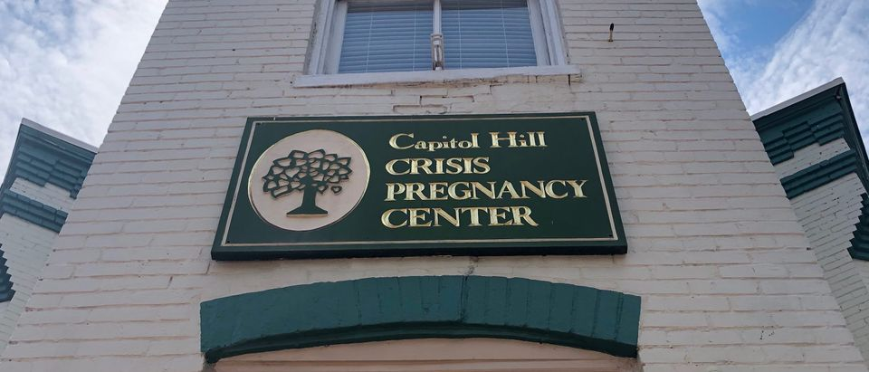 The Capitol Hill Pregnancy Center is pictured. (Photo courtesy of Mary Margaret Olohan/the Daily Caller News Foundation)