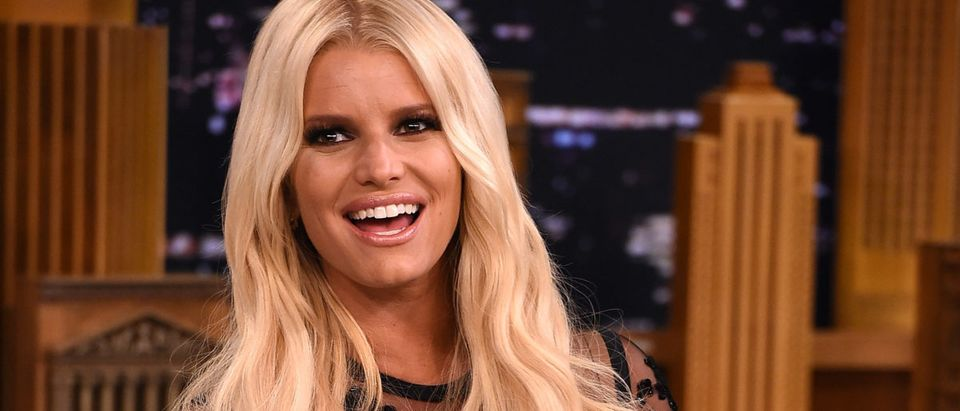"Jessica Simpson Visits ""The Tonight Show Starring Jimmy Fallon"""