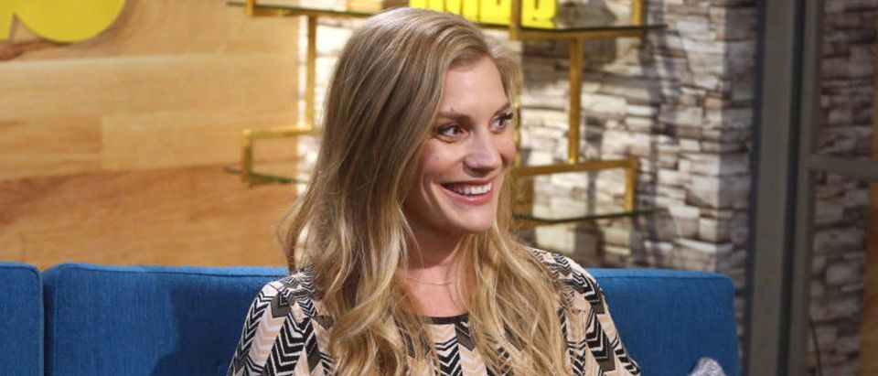 Katee Sackhoff Visits The IMDb Show (Photo by Tommaso Boddi/Getty Images for IMDb)