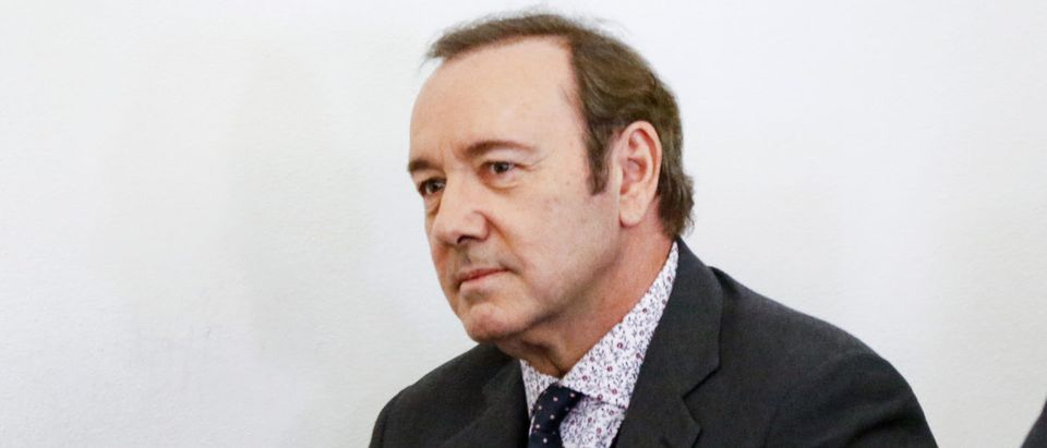 Kevin Spacey Arraigned On Sexual Assault Charge (Photo by Nicole Harnishfeger-Pool/Getty Images)