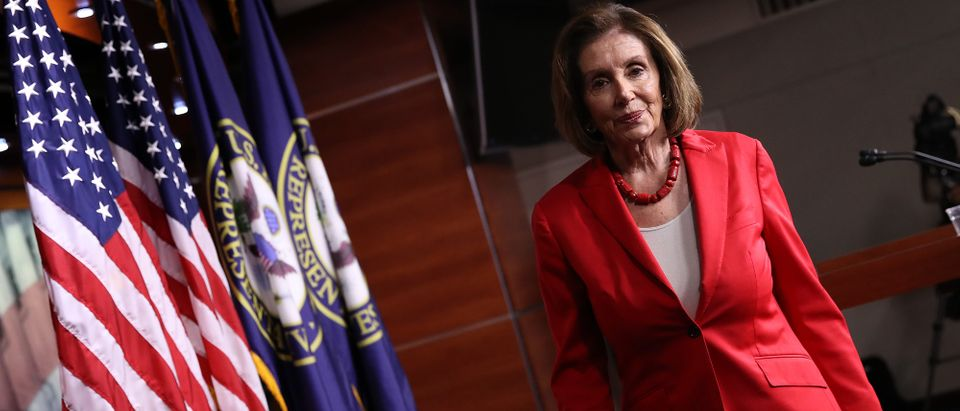 Speaker Nancy Pelosi Addresses The Media In Weekly Press Conference