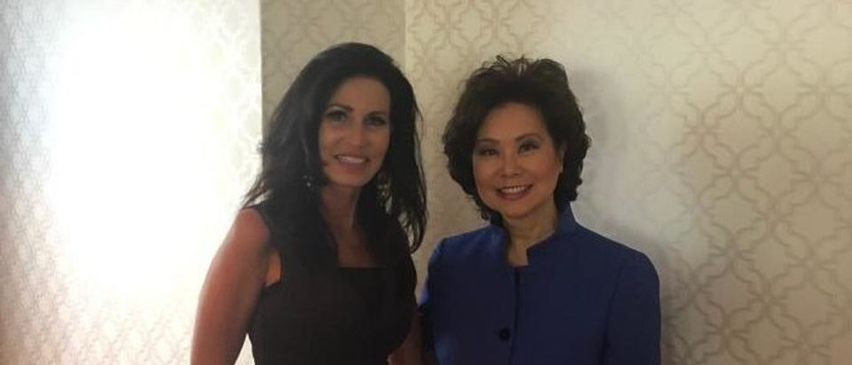 Penny Nance with Elaine Chao