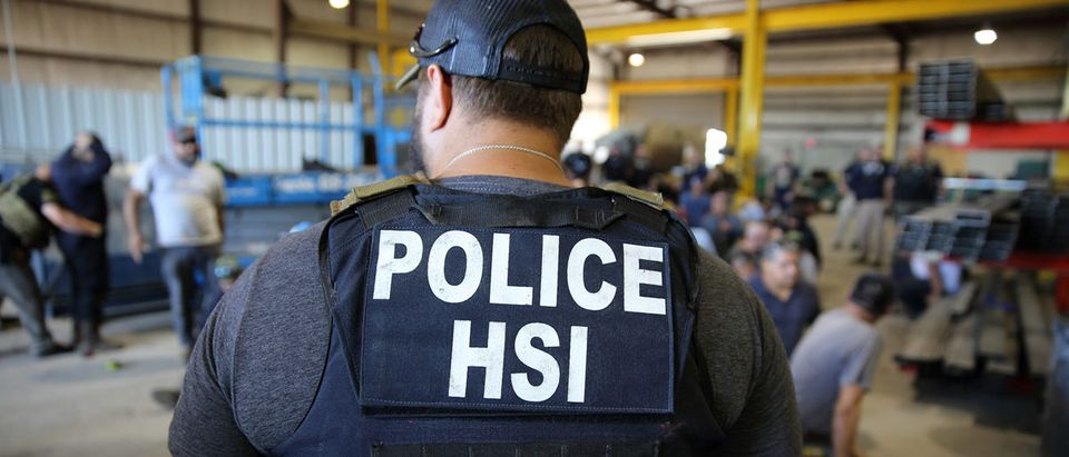 U.S. Immigration and Customs Enforcement's (ICE) Homeland Security Investigations (HSI) execute criminal search warrants and arrest more than 100 employees in Sumner