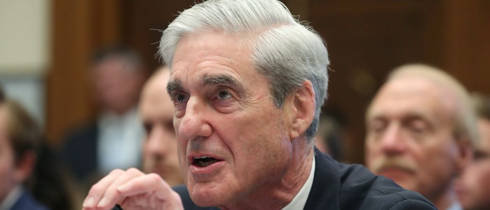 Former Special Counsel Robert Mueller testifies before the House Intelligence Committee at a hearing on the Office of Special Counsel's investigation into Russian Interference in the 2016 Presidential Election. (REUTERS/Leah Millis)