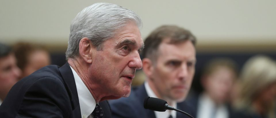 Former Special Counsel Robert Mueller testifies during House Intelligence Committee hearing on the Mueller Report on Capitol Hill in Washington