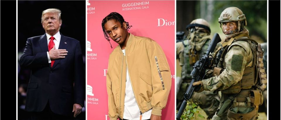 A$AP Rocky (Credit: Getty Images/Shutterstock Compilation)