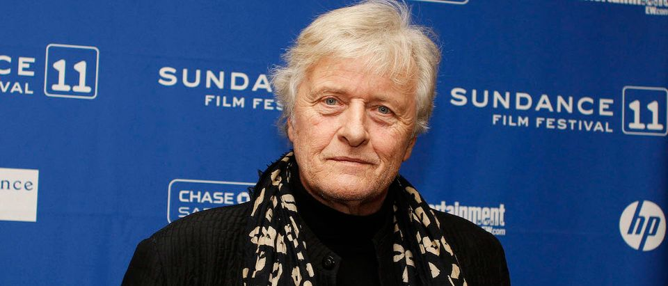 """Actor Rutger Hauer of the movie """"The Mill and the Cross"""", poses for the media before the screening of the film during the Sundance Film Festival in Park City, Utah, January 23, 2011. REUTERS/Jim Urquhart"""