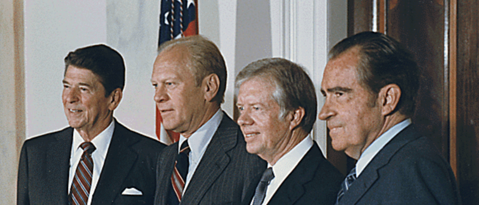 Richard Nixon, Gerald Ford, Jimmy Carter, Ronald Reagan