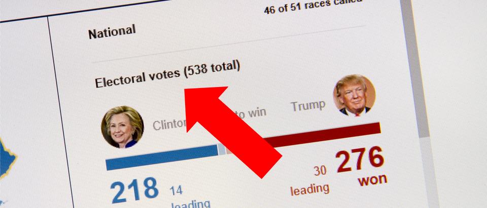 The Electoral College. (SHUTTERSTOCK/txking)