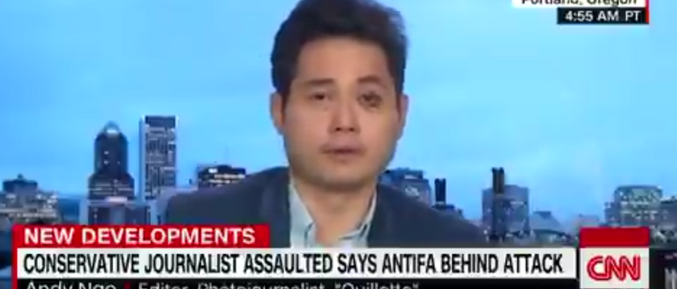 Andy Ngo Speaks Out On Antifa Assault