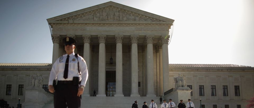 The Supreme Court as seen on March 26, 2012 (Chip Somodevilla/Getty Images)