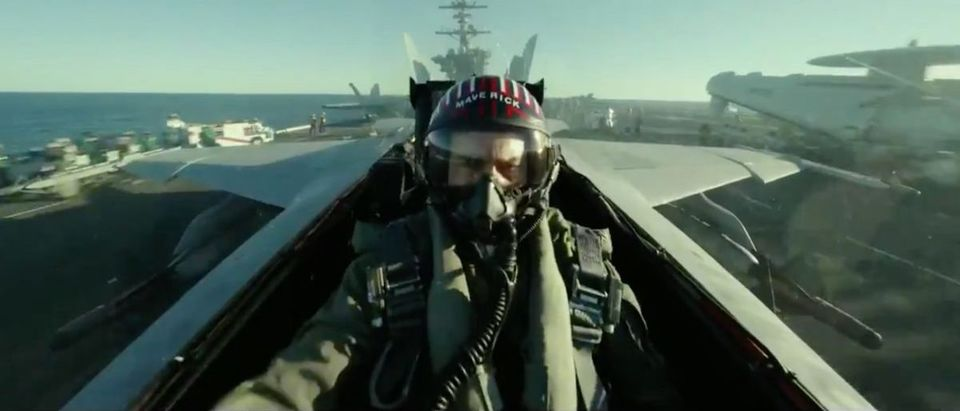 Top Gun Maverick (Credit: Screenshot/Twitter Video https://twitter.com/TopGunMovie/status/1151933656576823296)