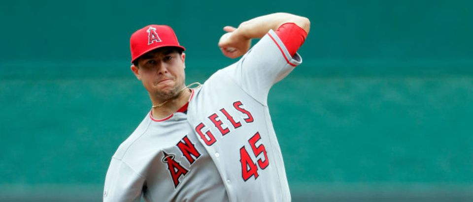 Los Angeles Angels of Anaheim v Kansas City Royals (Photo by Jamie Squire/Getty Images)