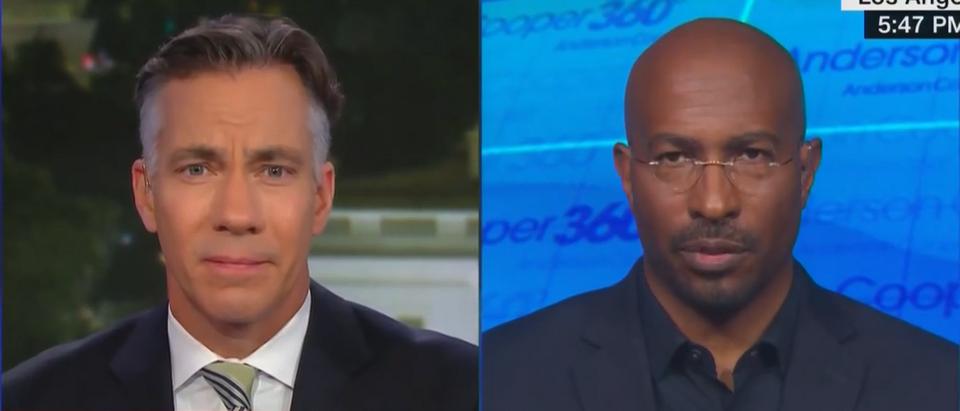 Van Jones discusses Biden's readiness to confront Trump (CNN screengrab)