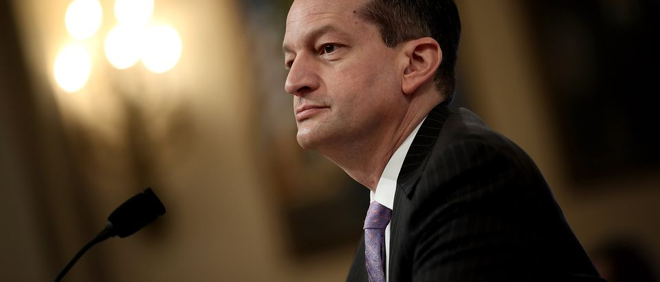 Labor Secretary Alexander Acosta Testifies At House Hearing On Jobs Gap
