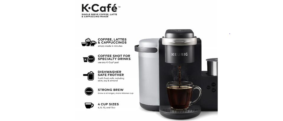 Amazon Keurig K-Cafe (Photo by Amazon)