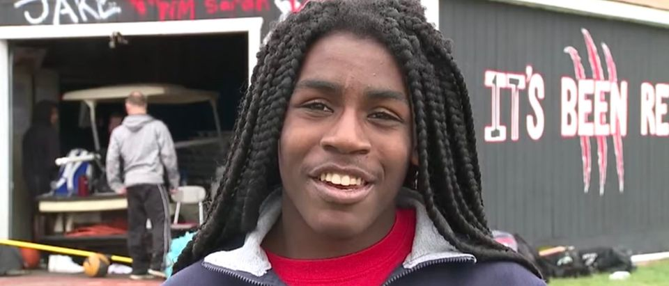 Transgender athlete Andraya Yearwood (Screenshot/YouTube/Sports Team 8)